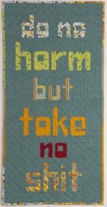Quilt Talk Bonus Pattern – Do No Harm!