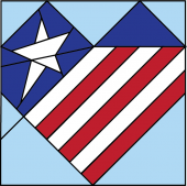 HDS.P003 - Patriotic Heart - image