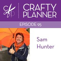 I'm on the Crafty Planner Podcast!